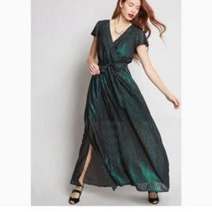 Modcloth Your Time to Shine Maxi Dress Size